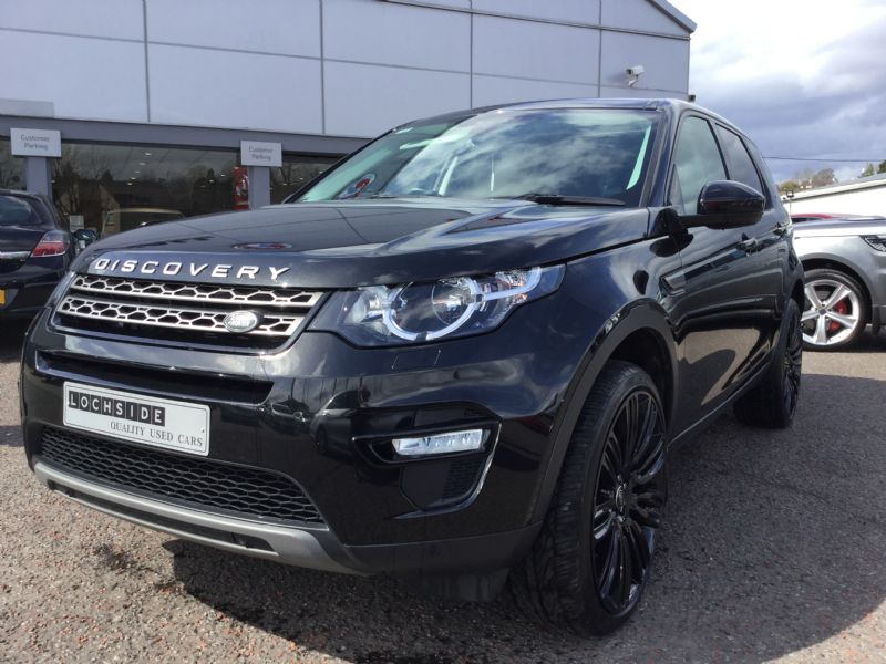 Landrover Discovery Sport 2.0Td4 SE Tech 180 AUTO, 7SEATS, PAN ROOF