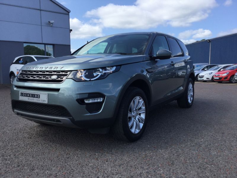 Landrover Discovery Sport 2.2sd4 190 SE TECH AUTO, 7 SEATS SAT NAV, LEATHER