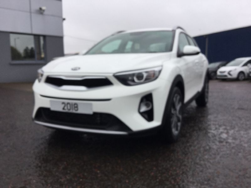 KIA STONIC [Ex Demo]* WHITE* 1.6CRDI 2 (KIA WARRANTY UNTIL 2025, 2500miles