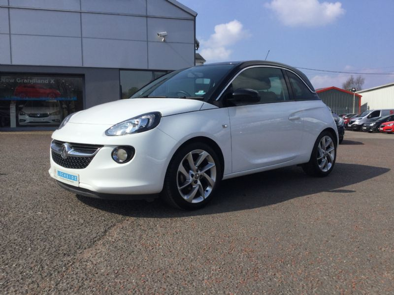 VAUXHALL ADAM 1.4 SLAM [ONLY 10K MILES. 1 LOCAL OWNER, FSH]